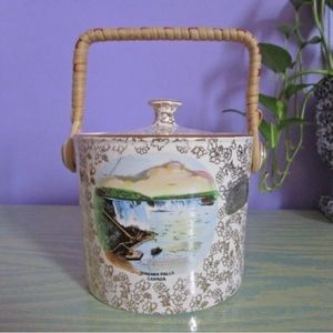 "Vintage ""Biscuit Barrel"" from Niagara Falls"